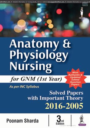 Anatomy and Physiology Nursing for GNM (Ist Year) 3rd Edition ...