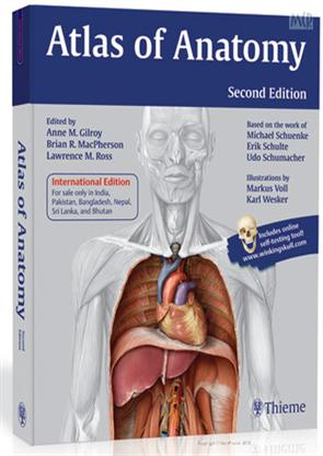 Atlas of Anatomy 2e (PB), Gilroy, 9789380378992