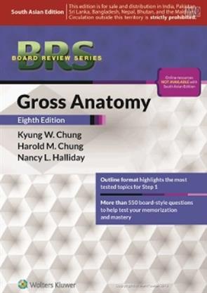 Brs Gross Anatomy 8th Edition Chung 9789351295952