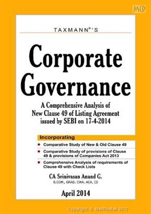 Corporate Governance A Comprehensive Analysis Of New Clause 49 Of